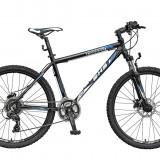 Bicicleta Mountain Bike Hardtail DHS Terrana 2627 - model 2015 26'-Negru-Rosu-495 mm - OLN-ONL8-21526270000|Negru-Rosu|Cadru 495 mm