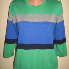 Bluza/ pulover Rabe colorat Mar 40/ 42 - Pulover dama, Culoare: Multicolor, Acril