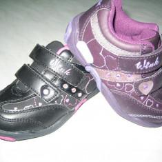 Pantofi sport fetite WINK;cod FS1781-4;marime:24-26 - Adidasi copii Wink, Marime: 25, Culoare: Negru, Fete, Piele sintetica