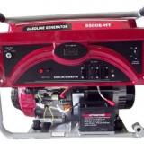 Generator curent - Weima Generator WM-5500E-HT, 5.2 kW, benzina, pornire electrica+baterie, cu roti