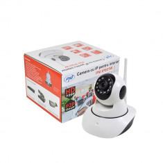 Camera CCTV - Resigilat - Camera supraveghere cu IP PNI IP801W 720P P2P PTZ wireless, Onvif, slot card microSD