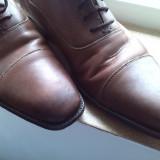 pantofi maro piele marime 43.5