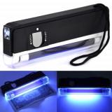 Scule Electrice - Lampa cu ultraviolete ULTRA VIOLETE ptr. verificat bancnonte sau criminalistica