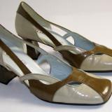 Pantofi dama marca Gabor interior exterior piele marimea 5 1/2 (echivalent 38.5 european) (P518_1)