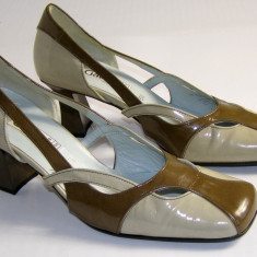 Pantofi dama marca Gabor interior exterior piele marimea 5 1/2 (echivalent 38.5 european) (P518_1) - Pantof dama