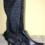 Cizme manusa de dama marca Funky Shoes marimea 40 (Q273_1) - Cizme dama