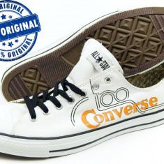 Adidasi barbat Converse CT Century Line Ox - adidasi originali - tenisi panza - Tenisi barbati Converse, Marime: 39.5, Culoare: Alb, Textil