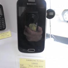 Samsung s7390 (lef) - Telefon mobil Samsung Galaxy Trend Lite, Negru, Neblocat, Single SIM