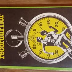 Carte despre Sport - Cartea recordurilor – Cristian Topescu, Virgil Ludu
