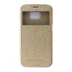 Toc My-Wow Samsung Galaxy S7 Edge G935 Auriu - Husa Telefon Atlas, Plastic