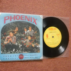 Muzica Rock electrecord, VINIL - Phoenix : Vremuri/Canarul, etc. (disc vinil EP - CITITI DESCRIEREA!)