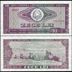 3. ROMANIA, 10 LEI 1966, UNC