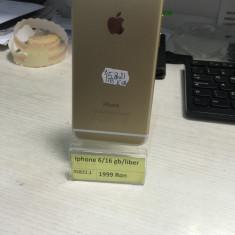 iPhone 6 Apple/16 gb, Auriu, Neblocat