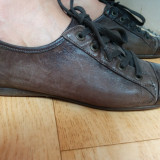 Pantofi din piele firma BELMONDO marimea 38, sunt noi! - Pantof dama, Culoare: Maro, Piele naturala