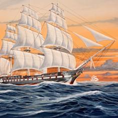 Macheta Navala Revell - Macheta Corabie U.S.S. Constitution - RV5472