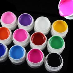 Set 12 geluri UV color COCO PURE COLOR - Gel unghii