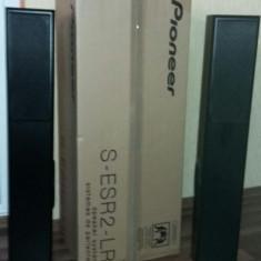 Boxe Pioneer, Boxe podea, 250 - 500 W - LA PRET FINAL PIONEER s-esr2tb Boxe podea coloana 2 x 150 W rms NOI in cutia lor