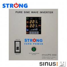 UPS 3000VA 2100W STRONG-3000E pentru centrale termice