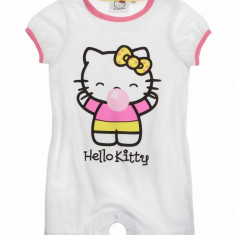 Salopeta de vara Hello Kitty alba