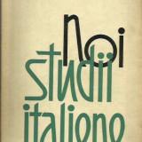 Noi studii italiene - Alexandru Balaci
