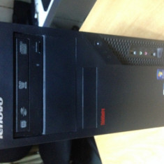 Sistem gaming LENOVO, CPU 3.0 ghz, 4 gb ddr3, video dedicata 1 gb, garantie - Sisteme desktop fara monitor Lenovo, Intel Core 2 Duo, Peste 3000 Mhz, 200-499 GB, LGA775