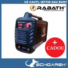 Invertor sudura - ► Aparat de sudura Invertor de noua generatie   RABATH - IGBT - MMA 200A  