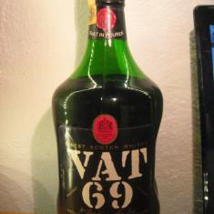 whisky  vat 69, finest scotch whisky, l. 2 gr.40 ani 60