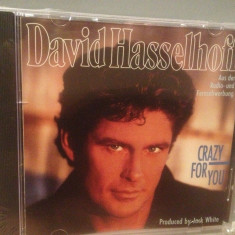 DAVID HASSELHOFF - CRAZY FOR YOU(1990/ BMG/ GERMANY) - CD NOU/Sigilat/Original - Muzica Pop ariola