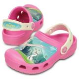 Saboti Crocs pentru copii Frozen Fever Clog (CRC-202706-6FJ)