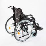 Scaun cu rotile - Carucior handicap pliabil cu detasare rapida a rotilor Ortomobil 040202 - 46 cm