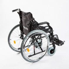 Carucior handicap pliabil cu detasare rapida a rotilor Ortomobil 040202 - 48 cm - Scaun cu rotile
