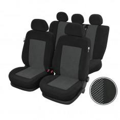 Huse scaune Dacia Logan Sedan set huse auto fata si spate Rubobostes - Husa Auto