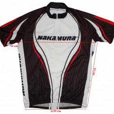 Tricou ciclism Nakamura, barbati, marimea L, Tricouri