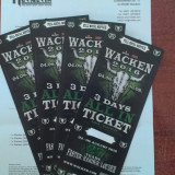 Bilet concert - 4 Bilete Wacken Open Air 2016 SOLD OUT