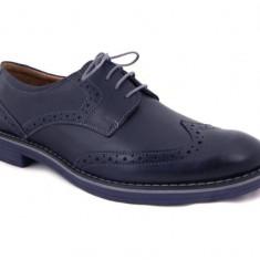 Pantofi barbati - Pantofi Oxford Arthur Blue