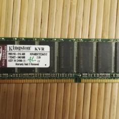 Memorie RAM Kingston, DDR, 512 MB, 400 mhz - Ram PC Kingston 512Mb DDR1 400MHz KVR400X72C3A/512 (AL)