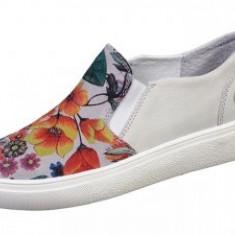 Pantofi barbati - PANTOFI FEMEI -PIELE VITEL/CROSTA -SILVY -BIT BONTIMES