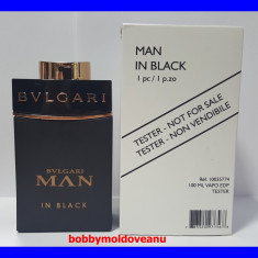 PARFUM TESTER BULGARI MAN IN BLACK 100ML EDP - Parfum barbati Bvlgari, Apa de parfum