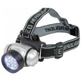Lanterna UV 12 leduri - pentru cap