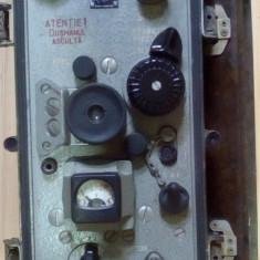 Aparat radio - Radio vechi militar armata transceiver pt R-105 R105M emitator statie