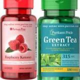 Cetona de zmeura+ceai verde, slabire, detoxificare, antiimbatranire, diabet ! - Produs de Slabit