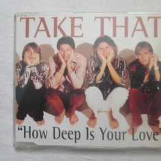 Take That – How Deep Is Your Love CD(single) UK - Muzica Pop rca records