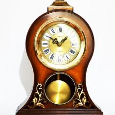 Ceas de mana - Ceas de masa din lemn cu pendula - Produs Nou