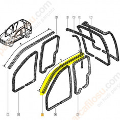 Chedere auto - Cheder pavilion Stg Renault Kangoo, original 7700400247
