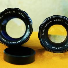 M42 2 obiective focus manual takumar - Obiectiv DSLR Pentax, Standard, Manual focus