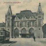 TIMISOARA, STATIA DE TRAMVAI IOSEFINI, TRAMVAI - Carte Postala Banat dupa 1918, Necirculata, Printata