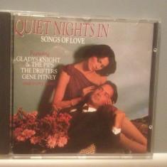 QUIET NIGHTS IN SONG OF LOVE-Various Artists-cd/Original/stare FB (1986/ONN/RFG) - Muzica Rock & Roll Altele