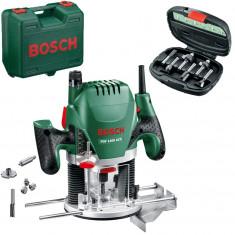 BOSCH POF 1400 ACE Masina de frezat 1400 W + Set 6 freze 060326C801