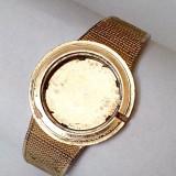 Omega 18k 0.750 carcasa cu bratara placata cu aur