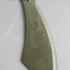 Briceag/Cutit vanatoare - Maceta model deosebit